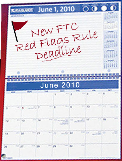 FTC delays identity theft Red Flags Rule enforcement until June 1,2010