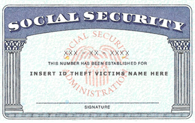 SSN Identity Theft