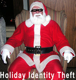 Holidays Invite Identity Fraud